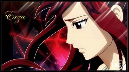 Erza Fairy Tail Scarlet Anime Titania Zerochan