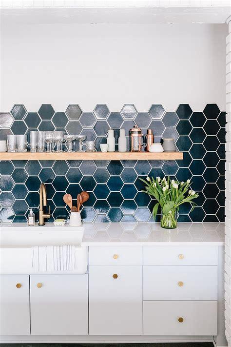 kitchen wall tiles ideas 10 hexagonal tiles ideas for kitchen backsplash floor and 6457