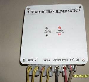 Automatic Change Over Switch   Phcn ---gen----phcn-----gen   - Technology Market