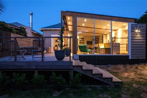glass bungalow design home design glass box extension upgrading bungalow style home in new zealand freshome com