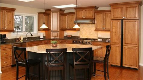 different color island kitchen islands