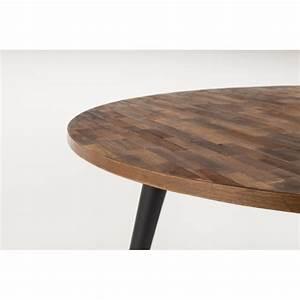 Table Ronde En Teck : table manger ronde en teck recycl mo 110 ~ Teatrodelosmanantiales.com Idées de Décoration
