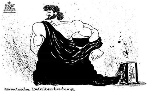 Oliver Schopf politische Karikatur: Griechenland ...