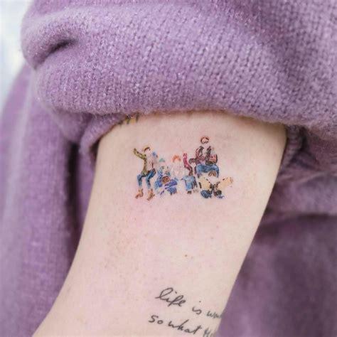 tattoos inspired  bts    pop fans