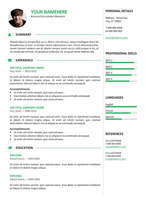 Professional Resume Templates Free by Gastown2 Free Professional Resume Template
