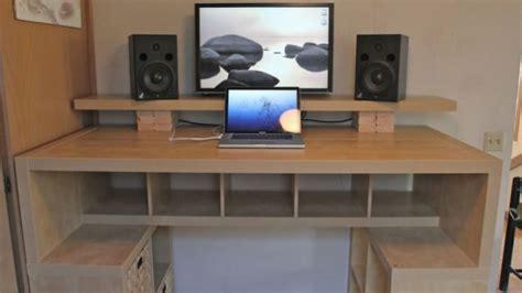 build a computer desk woodwork build wood desk pdf plans