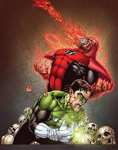 Atrocitus Let The Blood Flow The Green Lantern Corps
