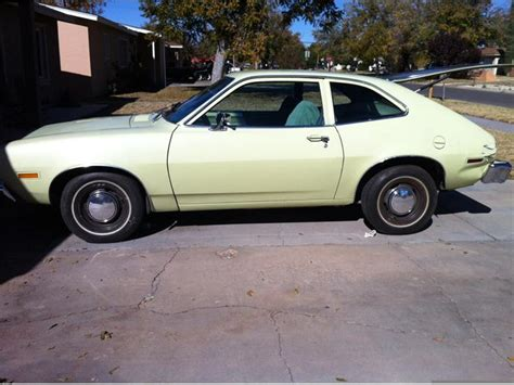 1976 Ford Pinto by 1976 Ford Pinto Yellow