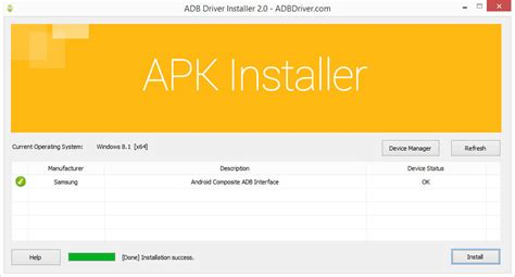 android adb how to use android adb driver installer for windows xp