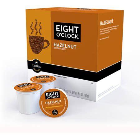 We care about our craft. Eight O'Clock Hazelnut Medium Roast K-Cups Coffee, 18 count - Walmart.com