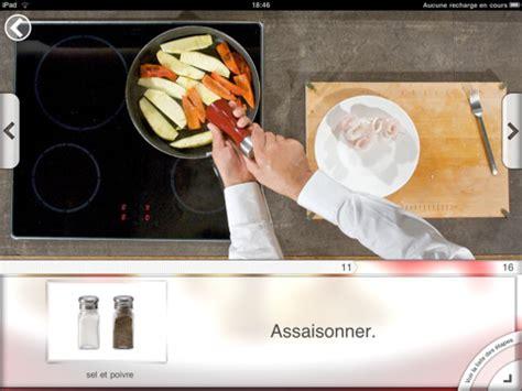 application recette cuisine application recettes de cuisine cookineo