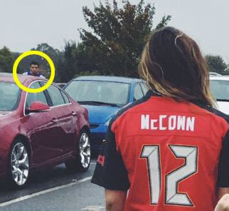 perfect pic captures  josh mccowns  hidden confused