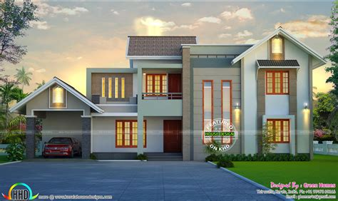 green home designs beautiful home design by green homes thiruvalla kerala