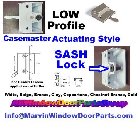 window sash lock  handed style casemaster truth window hardware