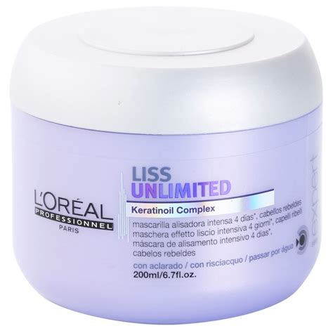 loreal professionnel serie expert liss unlimited masque