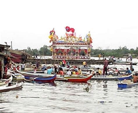 Legend Boats Wawa by A River Celebration At The Feast Of The Holy Cross In Wawa