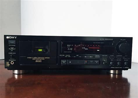 Sony Xplod Deck Change Time by Vintage Sony Tc K850es High End Three 3 Cassette