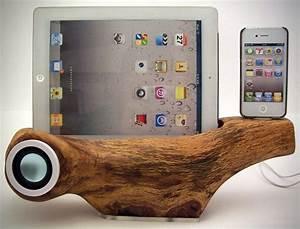 Ipad 4 Dockingstation : apple iphone ipad tree speaker docking station by rockapplewood hiconsumption ~ Bigdaddyawards.com Haus und Dekorationen