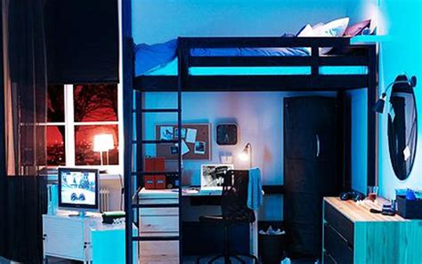 Contemporary Bedroom Design Small Space Loft Bed by Bedroom Furniture Stylish Space Saving Ideas And