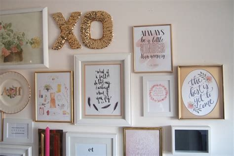 Wall Decor 2015 by How To Create A Beautiful And Inexpensive Gallery Wall
