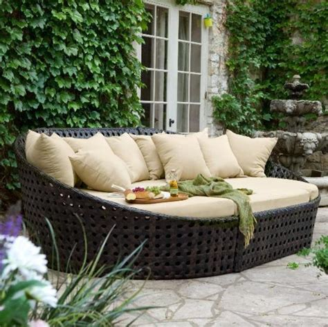 comfortable outdoor patio seating with walter lounge