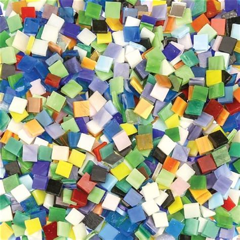 glass mosaic tiles small kg pack mosaics