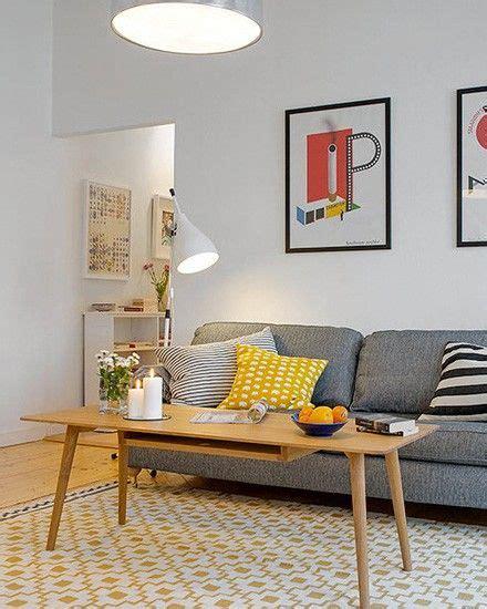 deco avec canapé gris décoration salon canape gris