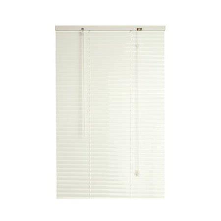 walmart mini blinds vinyl designer s touch 1 inch vinyl mini blinds white 43x48
