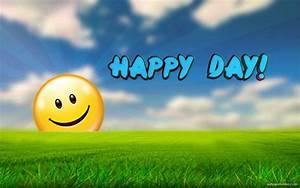 A Happy Day - Quotes Rhymes and Poems