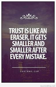 Instagram Trust Quote With Image