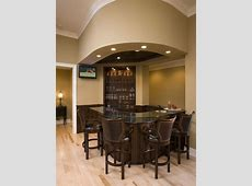 Small Basement Bar Houzz