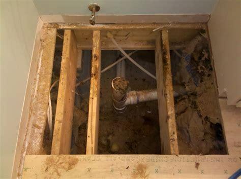 Bathroom Subfloor Repair