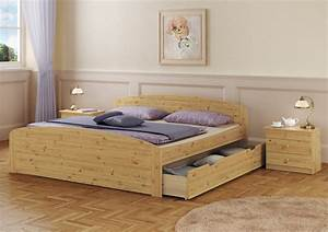 Bett 200x200 Mit Bettkasten : doppelbett bettkasten rollrost 200x200 seniorenbett massivholz kiefer ebay ~ Indierocktalk.com Haus und Dekorationen