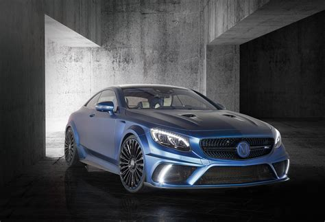 hp  cure mansory mercedes benz  amg coupes