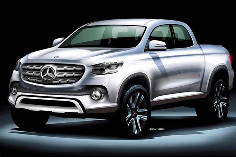 mercedes pickup 2017 mercedes to preview pickup in concept form at 2016 paris