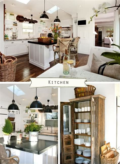 love the elegant farmhouse look white cabinets