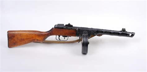 Russian Ppsh Machine Gun. Stock Photos