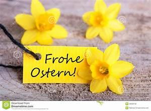 Frohe Ostern Bilder Kostenlos Herunterladen : aufkleber mit frohe ostern stockfoto bild von kennsatz 38556102 ~ Frokenaadalensverden.com Haus und Dekorationen