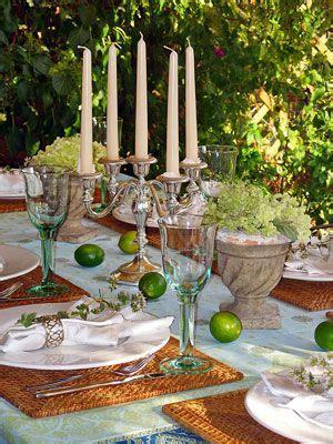 deko ideen sommerliche tischdeko mediterrane tischdeko