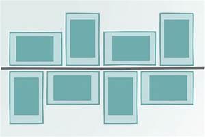 Richtig Bilder Aufhängen : bilder aufh ngen anordnung leicht gemacht anleitung ~ Lizthompson.info Haus und Dekorationen