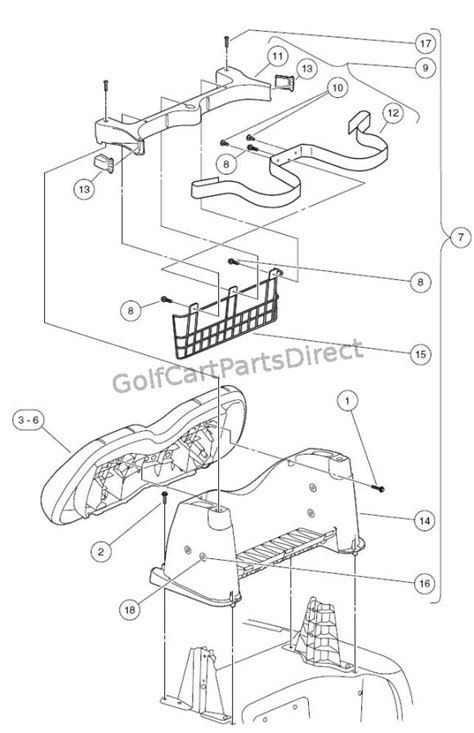 club car precedent gas  electric club car parts accessories