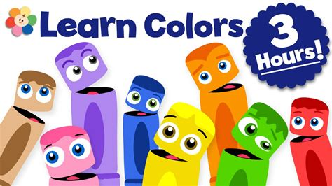 learn colors for kids color learning videos for kids 3