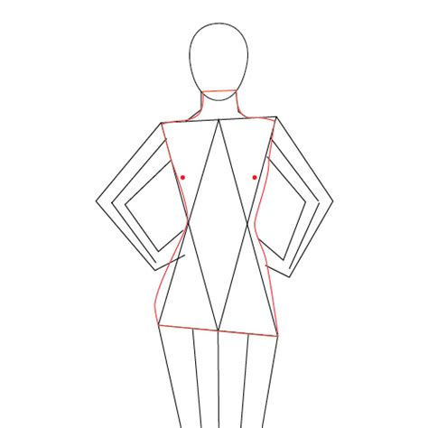 human body drawing outline  getdrawings