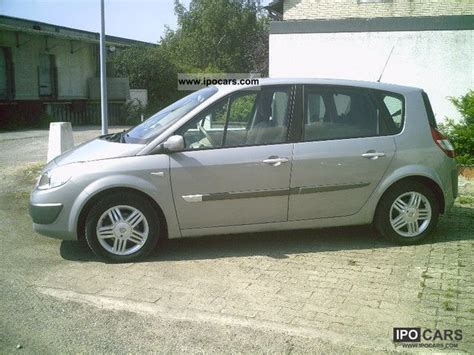renault scenic 2005 tuning 2005 renault scenic 1 6 16v car photo and specs