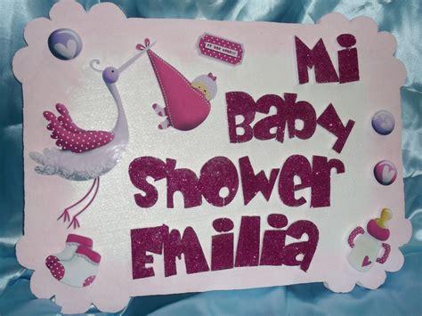 Eventos para tu Bebé: Letrero Baby Shower