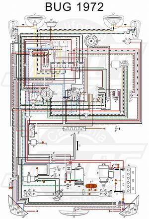 1965 Vw Beetle Wiring Diagram 41066 Enotecaombrerosse It