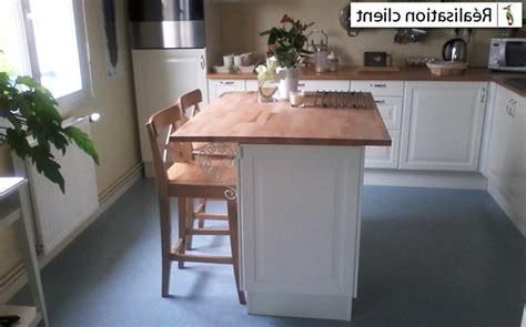 plan de travail central cuisine plan de travail ilot cuisine quelle table pour une