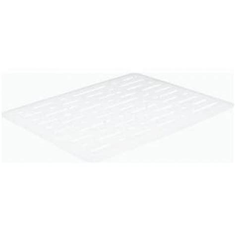 geekshive rubbermaid white sink mat storage
