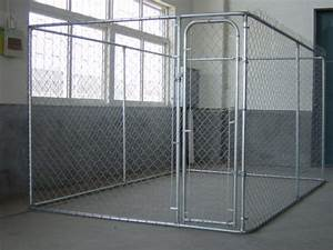 china outdoor large metal chink link welded mesh dog cage With big dog fence cage