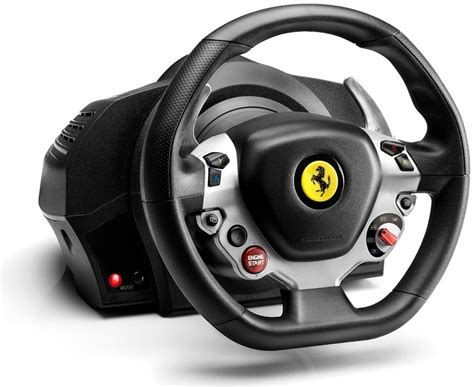 The name ferrari, the prancing horse device, all associated logos and distinctive designs are property of ferrari. Thrustmaster TX Ferrari 458 Italia Edition Racing Wheel Racestuur kopen?